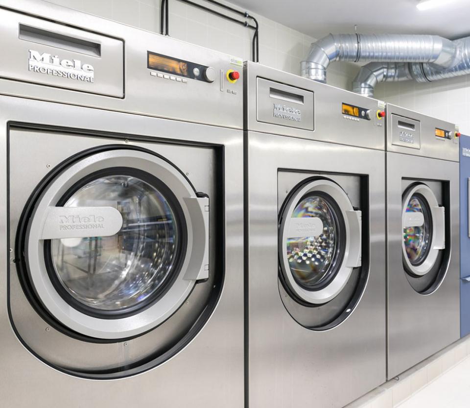Lavandys CIDS machine blanchisserie