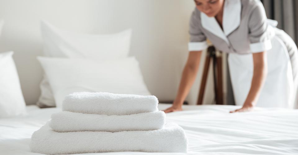 Solutions blanchisserie hôtellerie et restauration